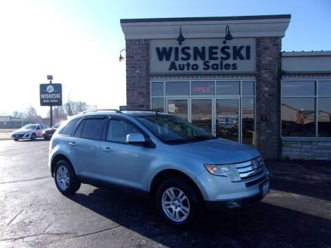 2008 Ford Edge for sale at Wisneski Auto Sales, Inc. in Green Bay WI
