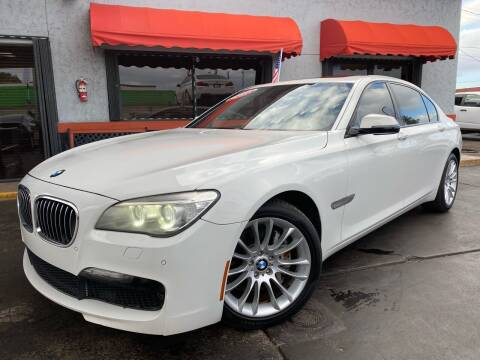 2013 BMW 7 Series for sale at MATRIX AUTO SALES INC in Miami FL