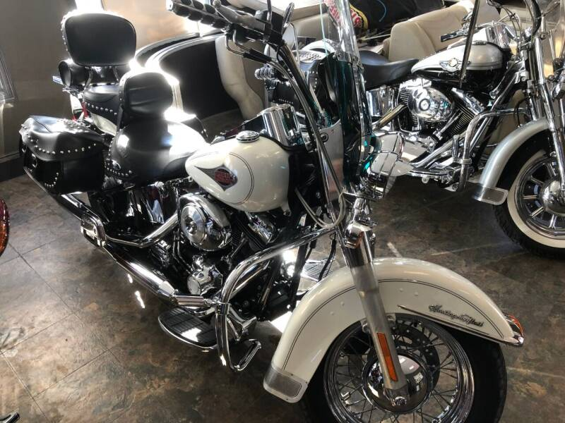 2000 Harley-Davidson FLSTC Heritage Softail classic for sale at Triple R Sales in Lake City MN