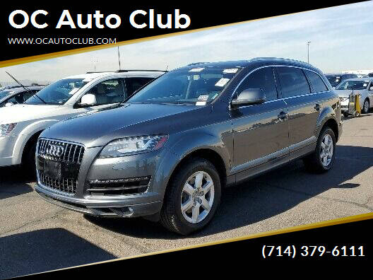 2014 Audi Q7 for sale at OC Auto Club in Midway City CA