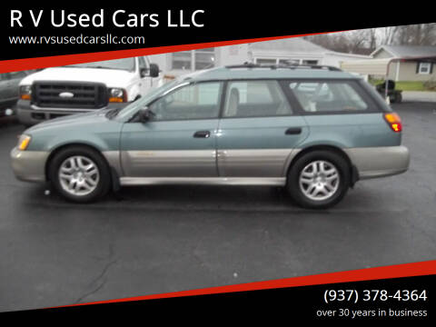 2001 Subaru Outback for sale at R V Used Cars LLC in Georgetown OH
