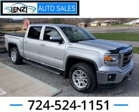 2015 GMC Sierra 1500 for sale at LENZI AUTO SALES in Sarver PA