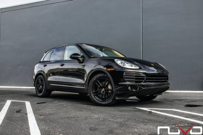 2012 Porsche Cayenne for sale at Nuvo Trade in Newport Beach CA