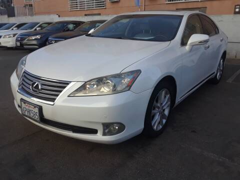 2010 Lexus ES 350 for sale at Western Motors Inc in Los Angeles CA
