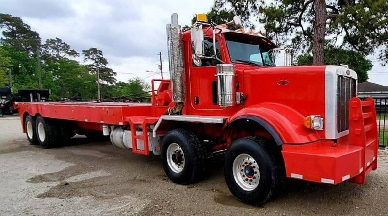 2013 Peterbilt 367 TWIN STEER for sale at JAG TRUCK SALES in Houston TX