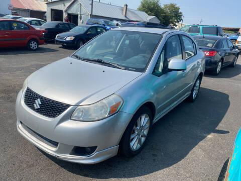 2009 Suzuki SX4 for sale at Cliff's Qualty Auto Sales in Spokane WA