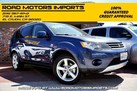 2007 Mitsubishi Outlander for sale at Road Motors Imports in El Cajon CA