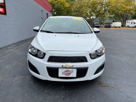 2016 Chevrolet Sonic for sale at Stach Auto in Janesville WI
