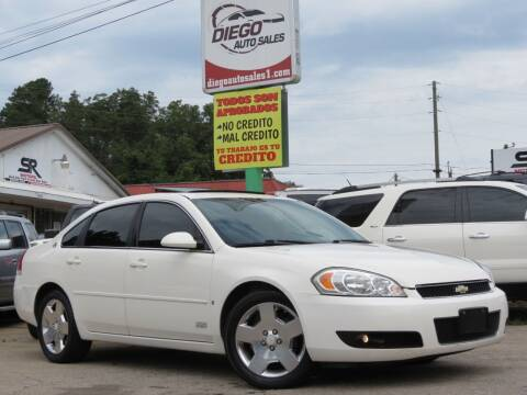 2007 Chevrolet Impala for sale at Diego Auto Sales #1 in Gainesville GA