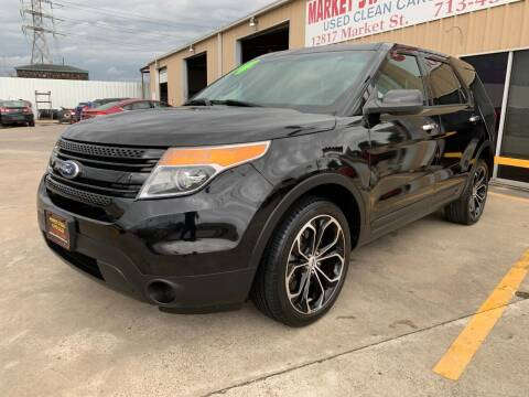 2014 Ford Explorer for sale at Market Street Auto Sales INC in Houston TX