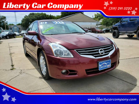 2012 Nissan Altima for sale at Liberty Car Company in Waterloo IA