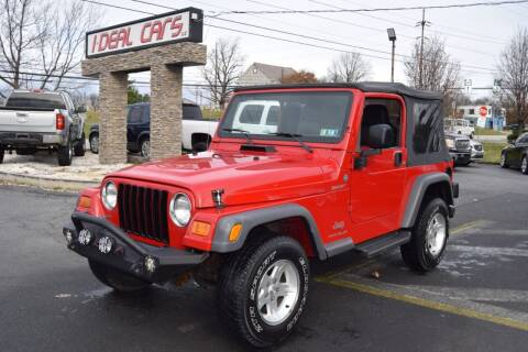 2005 Jeep Wrangler for sale at I-DEAL CARS in Camp Hill PA