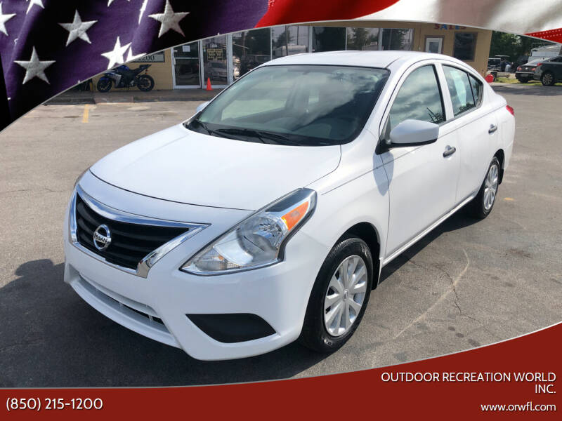 2017 Nissan Versa for sale at Outdoor Recreation World Inc. in Panama City FL