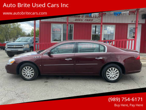 2007 Buick Lucerne for sale at Auto Brite Used Cars Inc in Saginaw MI
