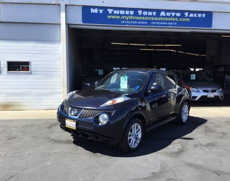 2011 Nissan JUKE for sale at My Three Sons Auto Sales in Sacramento CA