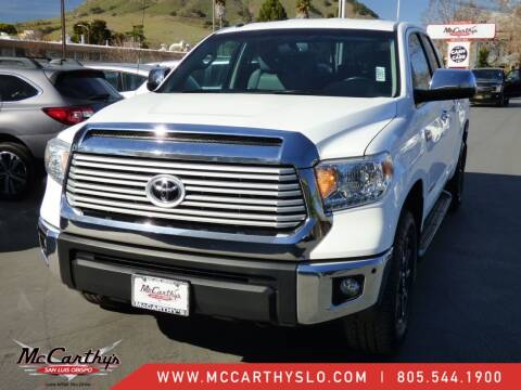 2015 Toyota Tundra for sale at McCarthy Wholesale in San Luis Obispo CA