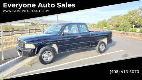 1996 Dodge Ram Pickup 1500 for sale at Everyone Auto Sales in Santa Clara CA