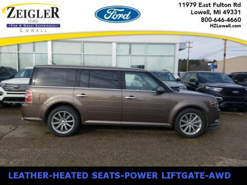 2019 Ford Flex for sale at Zeigler Ford of Plainwell- Jeff Bishop in Plainwell MI
