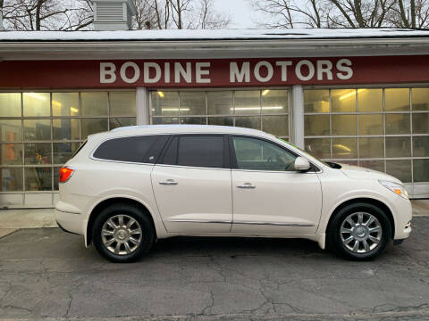 2015 Buick Enclave for sale at BODINE MOTORS in Waverly NY