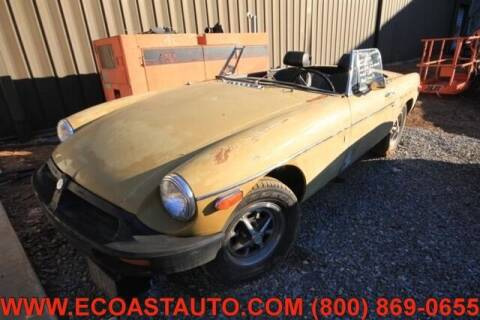 1974 MG MGB for sale at East Coast Auto Source Inc. in Bedford VA