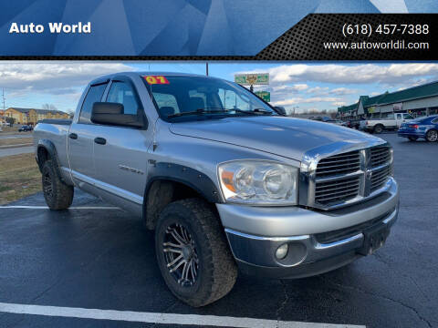 2007 Dodge Ram Pickup 1500 for sale at Auto World in Carbondale IL