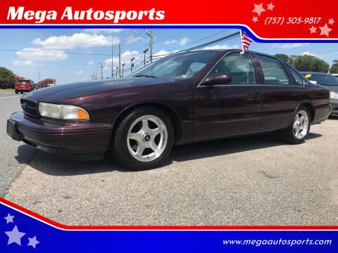 1996 Chevrolet Caprice for sale at Mega Autosports in Chesapeake VA