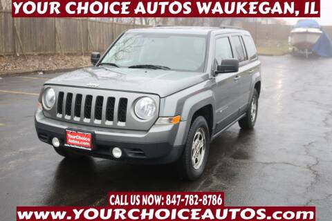 2012 Jeep Patriot for sale at Your Choice Autos - Waukegan in Waukegan IL