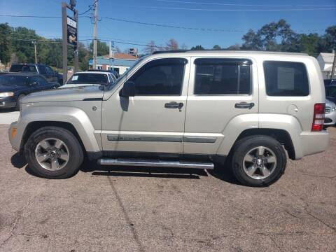 2008 Jeep Liberty for sale at RIVERSIDE AUTO SALES in Sioux City IA