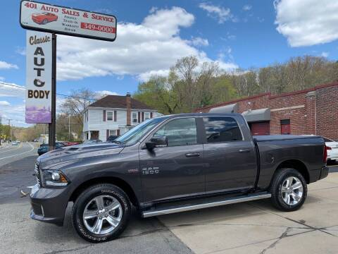 2017 RAM Ram Pickup 1500 for sale at 401 Auto Sales & Service in Smithfield RI