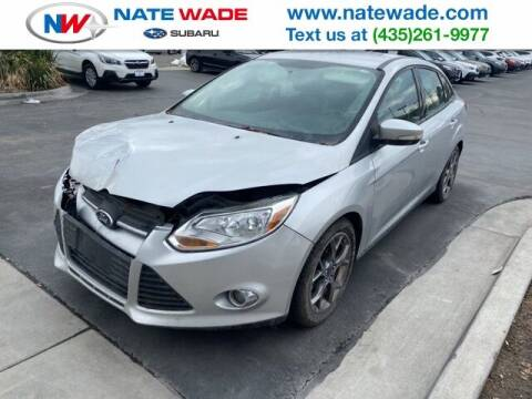 2014 Ford Focus for sale at NATE WADE SUBARU in Salt Lake City UT