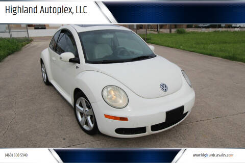 2008 Volkswagen New Beetle for sale at Highland Autoplex, LLC in Dallas TX