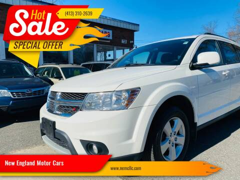 2012 Dodge Journey for sale at New England Motor Cars in Springfield MA
