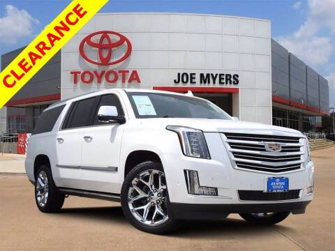 2018 Cadillac Escalade ESV for sale at Joe Myers Toyota PreOwned in Houston TX