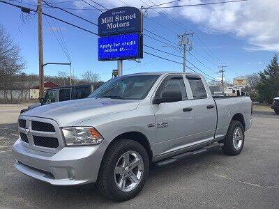 2017 RAM Ram Pickup 1500 for sale at Mill Street Motors in Worcester MA