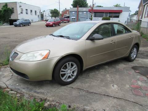 2006 Pontiac G6 for sale at Arnold Motor Company in Houston PA