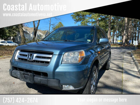 2007 Honda Pilot for sale at Coastal Automotive in Virginia Beach VA