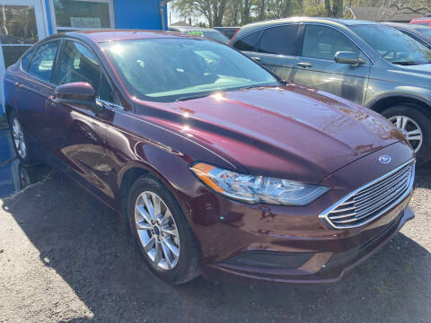 2017 Ford Fusion for sale at The Peoples Car Company in Jacksonville FL
