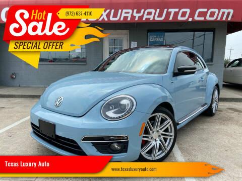 2014 Volkswagen Beetle for sale at Texas Luxury Auto in Cedar Hill TX