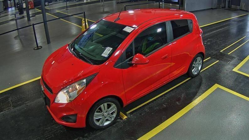 2014 Chevrolet Spark for sale at HERMANOS SANCHEZ AUTO SALES LLC in Dallas TX