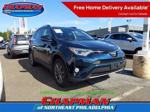 2018 Toyota RAV4 for sale at CHAPMAN FORD NORTHEAST PHILADELPHIA in Philadelphia PA