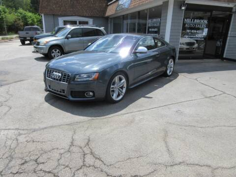 2009 Audi S5 for sale at Millbrook Auto Sales in Duxbury MA