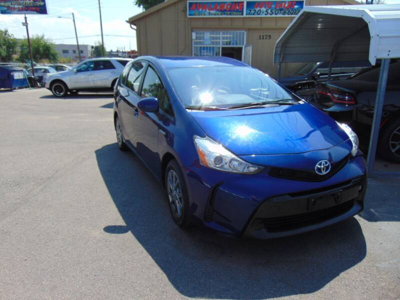 2017 Toyota Prius v for sale at Avalanche Auto Sales in Denver CO