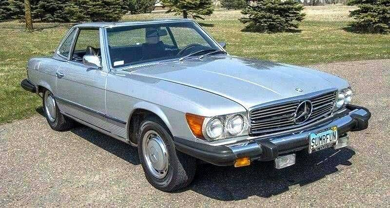 1975 Mercedes-Benz 450 SL for sale at Wayne Johnson Private Collection in Shenandoah IA