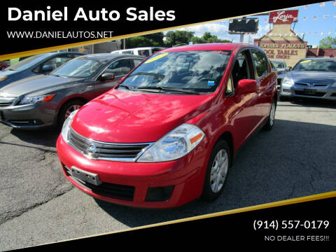 2012 Nissan Versa for sale at Daniel Auto Sales in Yonkers NY