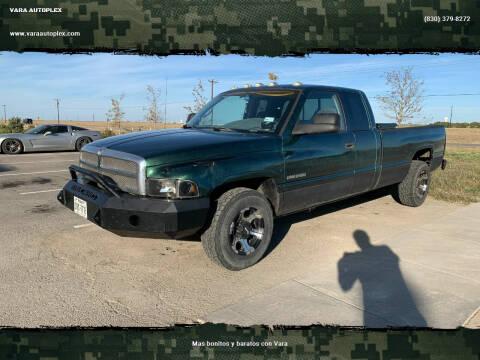 1999 Dodge Ram Pickup 2500 for sale at VARA AUTOPLEX in Seguin TX