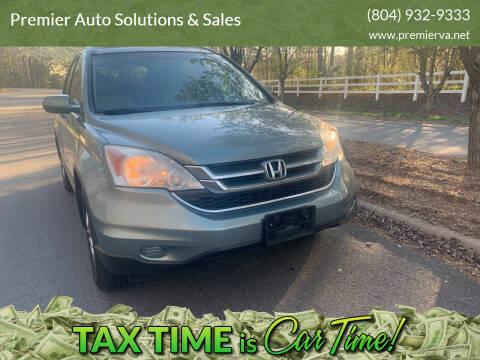 2010 Honda CR-V for sale at Premier Auto Solutions & Sales in Quinton VA