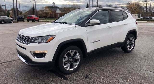 2021 Jeep Compass 4x4 Limited 4dr SUV - North Olmsted OH