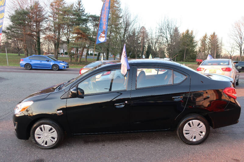 2018 Mitsubishi Mirage G4 for sale at GEG Automotive in Gilbertsville PA