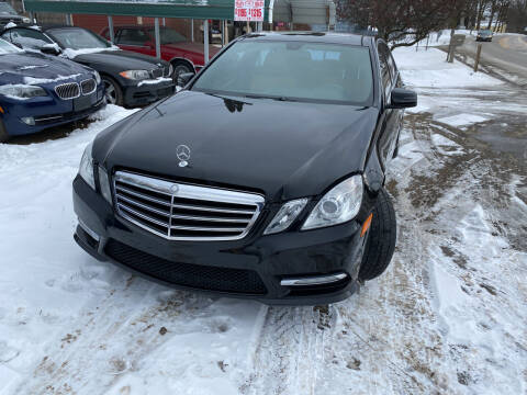 2013 Mercedes-Benz E-Class for sale at Richard C Peck Auto Sales in Wellsville NY