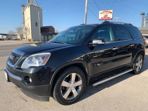 2011 GMC Acadia for sale at El Rancho Auto Sales in Des Moines IA